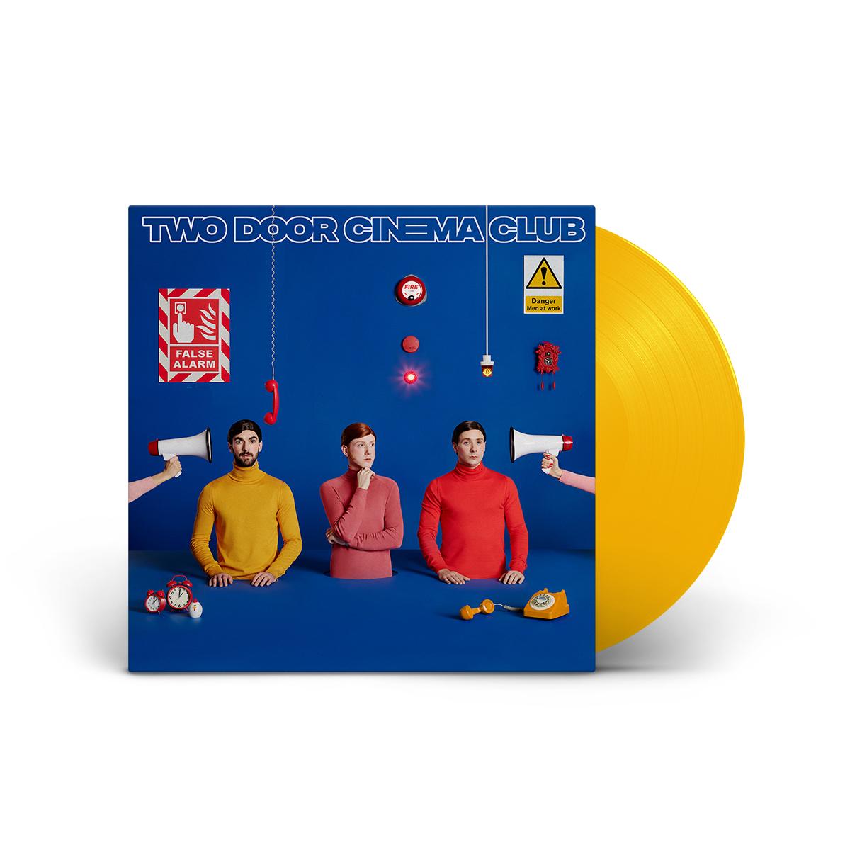 False Alarm Limited Edition Yellow D2C Exclusive 180 Gram LP