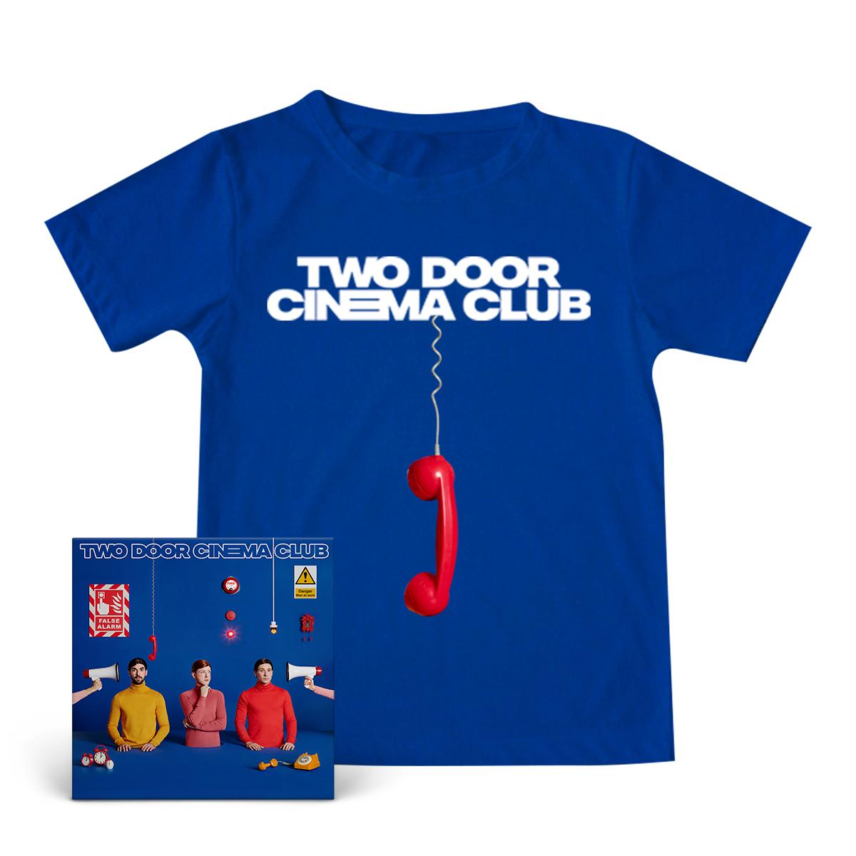 False Alarm Blue T-shirt + Digital Download