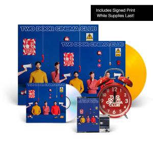 False Alarm Limited Edition Yellow D2C Exclusive 180 Gram LP + CD + Cassette + Alarm Clock + Print