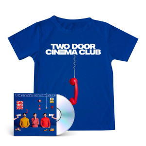 False Alarm Blue T-shirt + CD