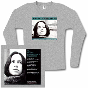 Natalie Merchant - The House Carpenter's Daughter Long Sleeved Women's Tee