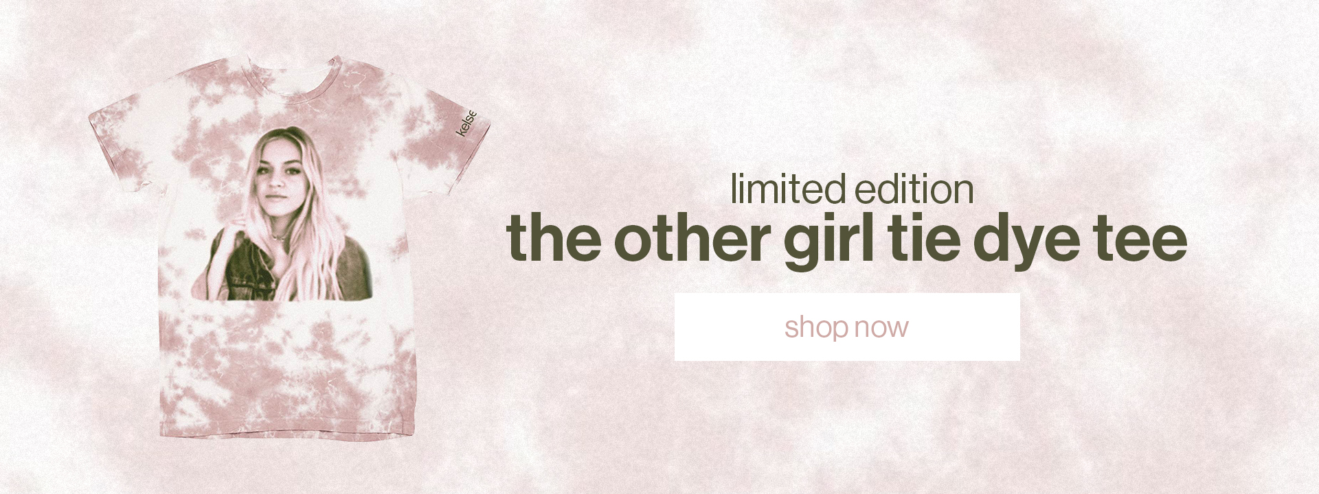 Limited edition The Other Girl Tie Dye Tee. | Shop now