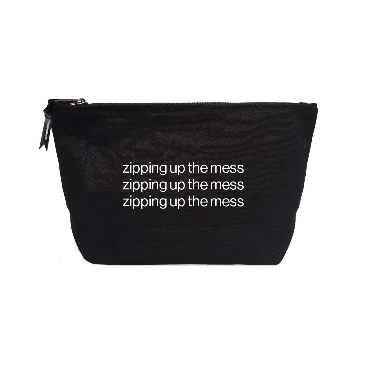 Zipping Up the Mess Makeup Bag