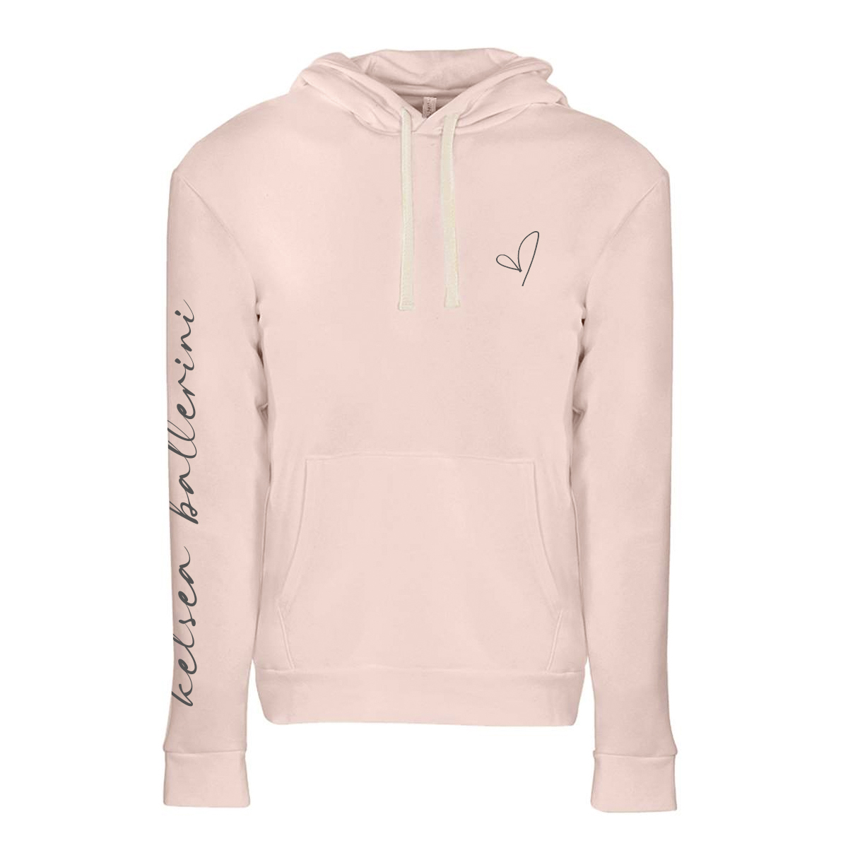 2021 Tour Pink Heart Hoodie