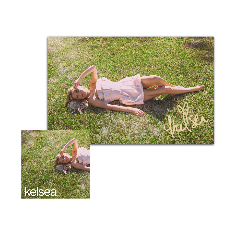 Autographed kelsea Lithograph + kelsea Bundle