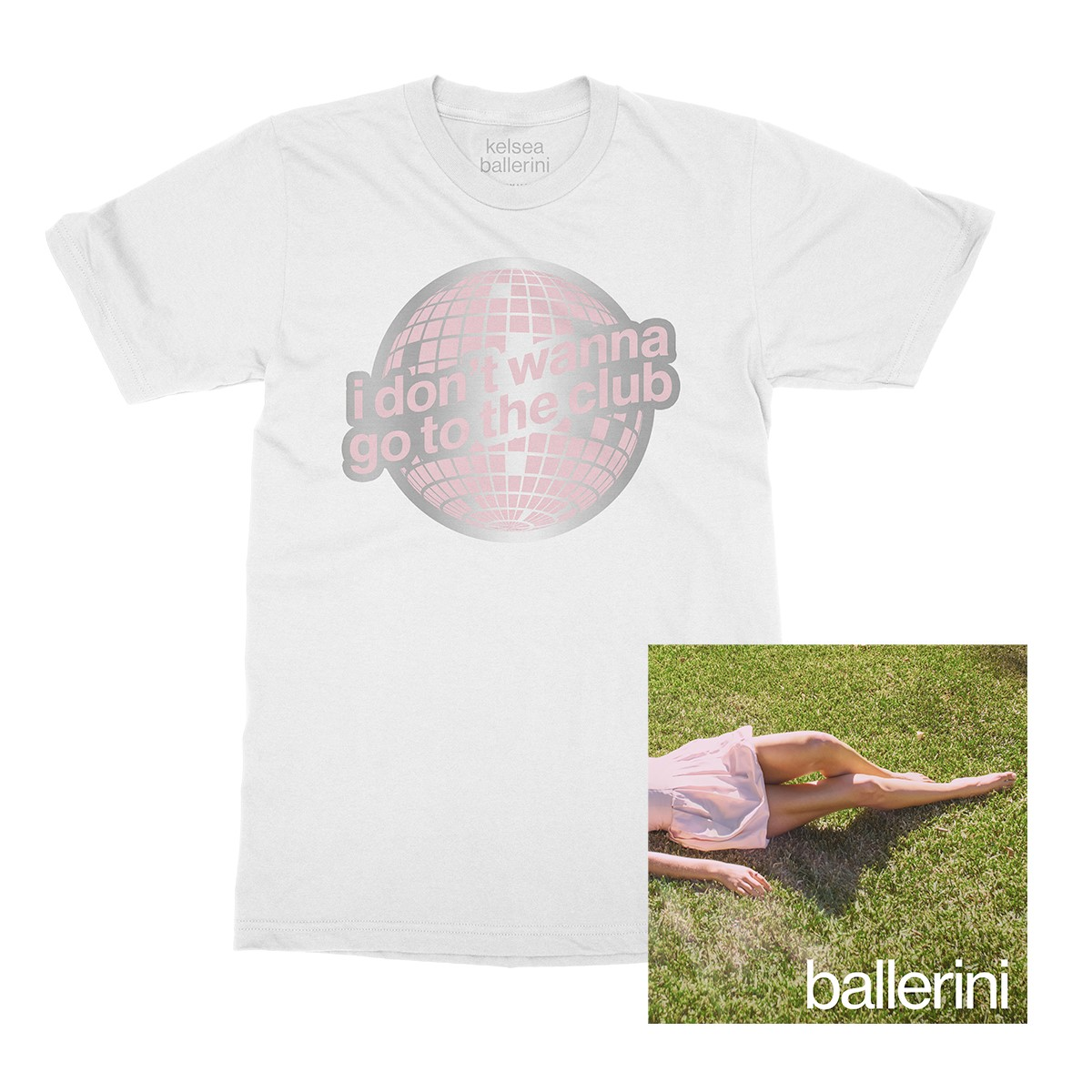 i don't wanna go to the club t-shirt + ballerini digital download