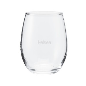 Hole in the Bottle Wine Glass
