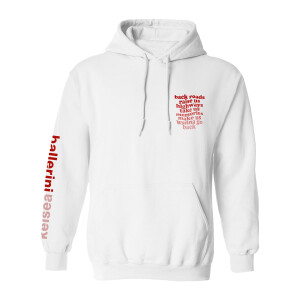 half of my hometown hoodie