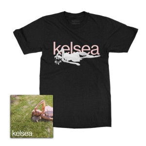 kelsea Album Cover Black T-Shirt + kelsea bundle