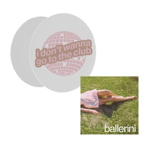 i don't wanna go to the club phone grip + ballerini digital download