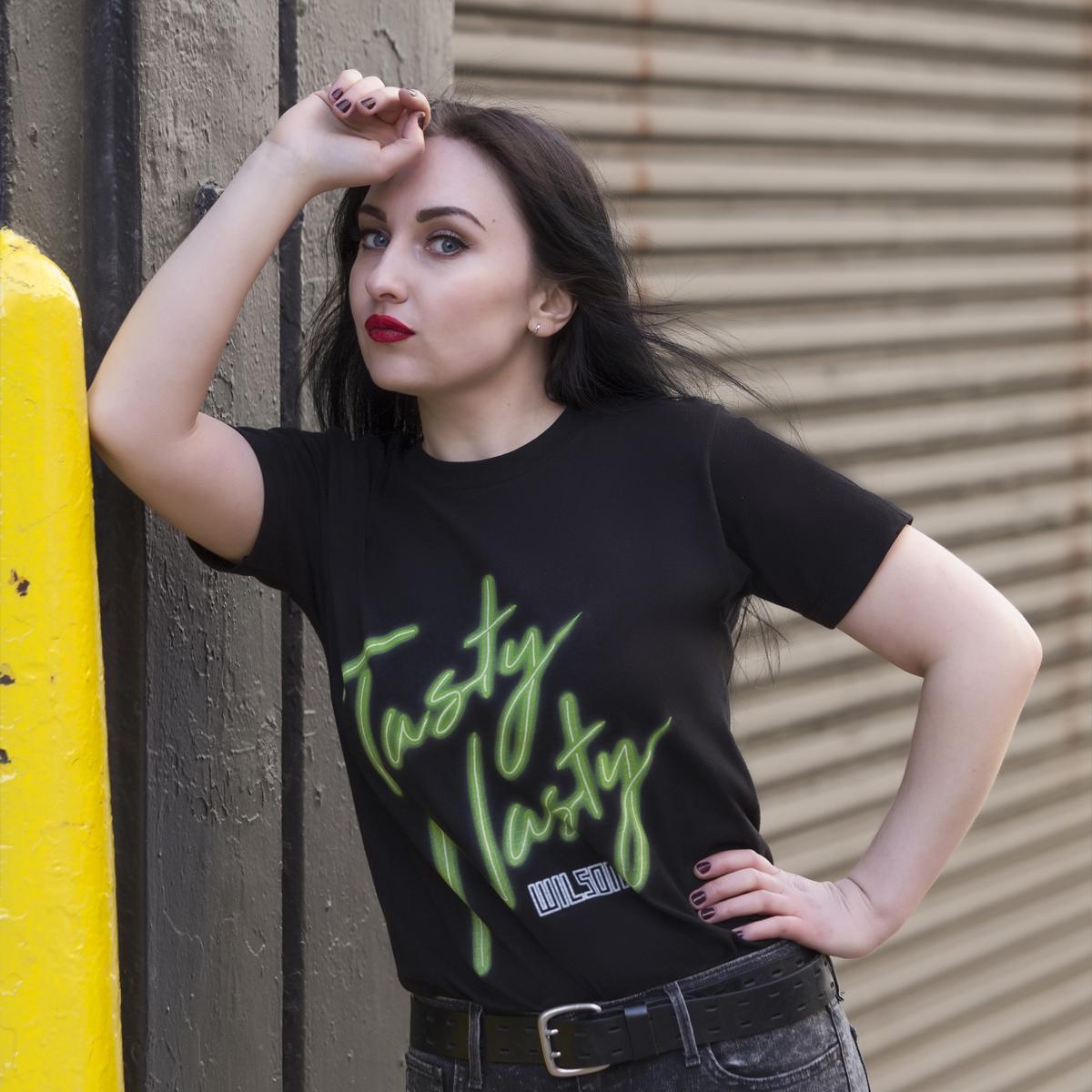 Wilson - Tasty Nasty Black T-Shirt