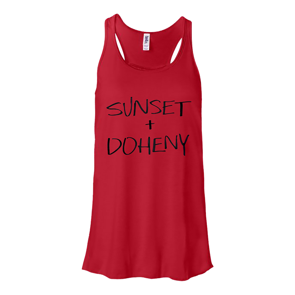 sunset + doheny tank top