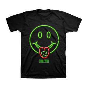 Wilson - Smiley Face Black T-Shirt