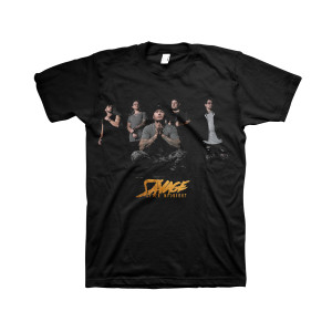 Savage After Midnight - Photo Black T-Shirt