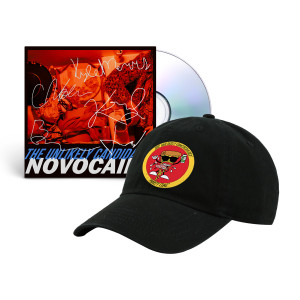 The Unlikely Candidates - Novocaine CD + Pizza Guy Dad Hat