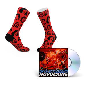 The Unlikely Candidates - Novocaine CD + Socks
