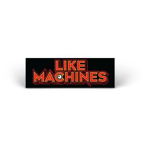 Like Machines Logo Sticker