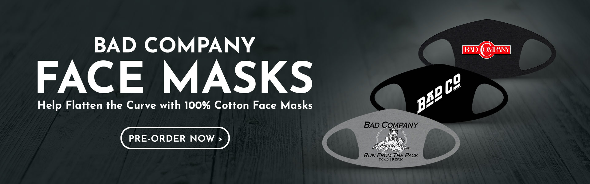 Bad Co. Masks