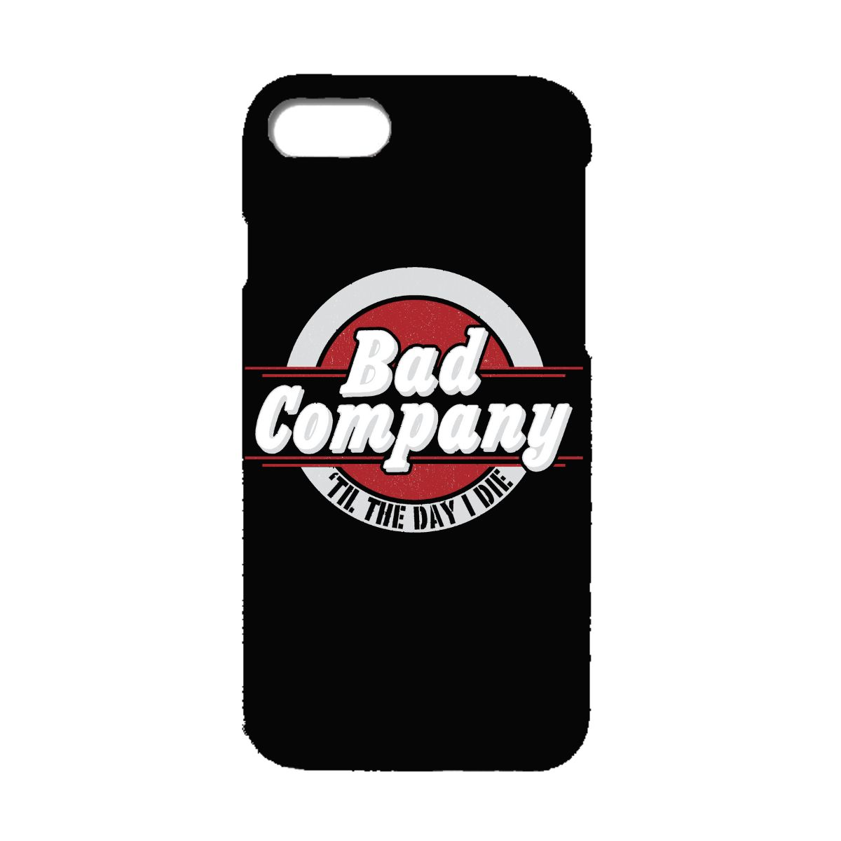 Til The Day I Die Circle Logo Phone Case