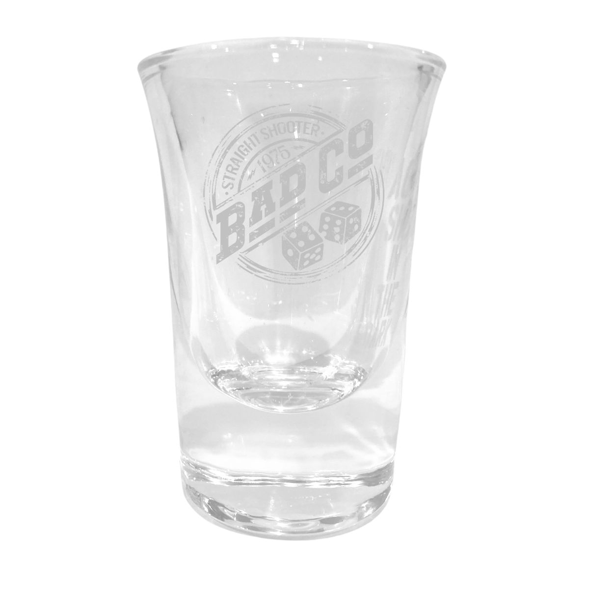 Straight Shooter '75 Laser Engraved Shot Glass