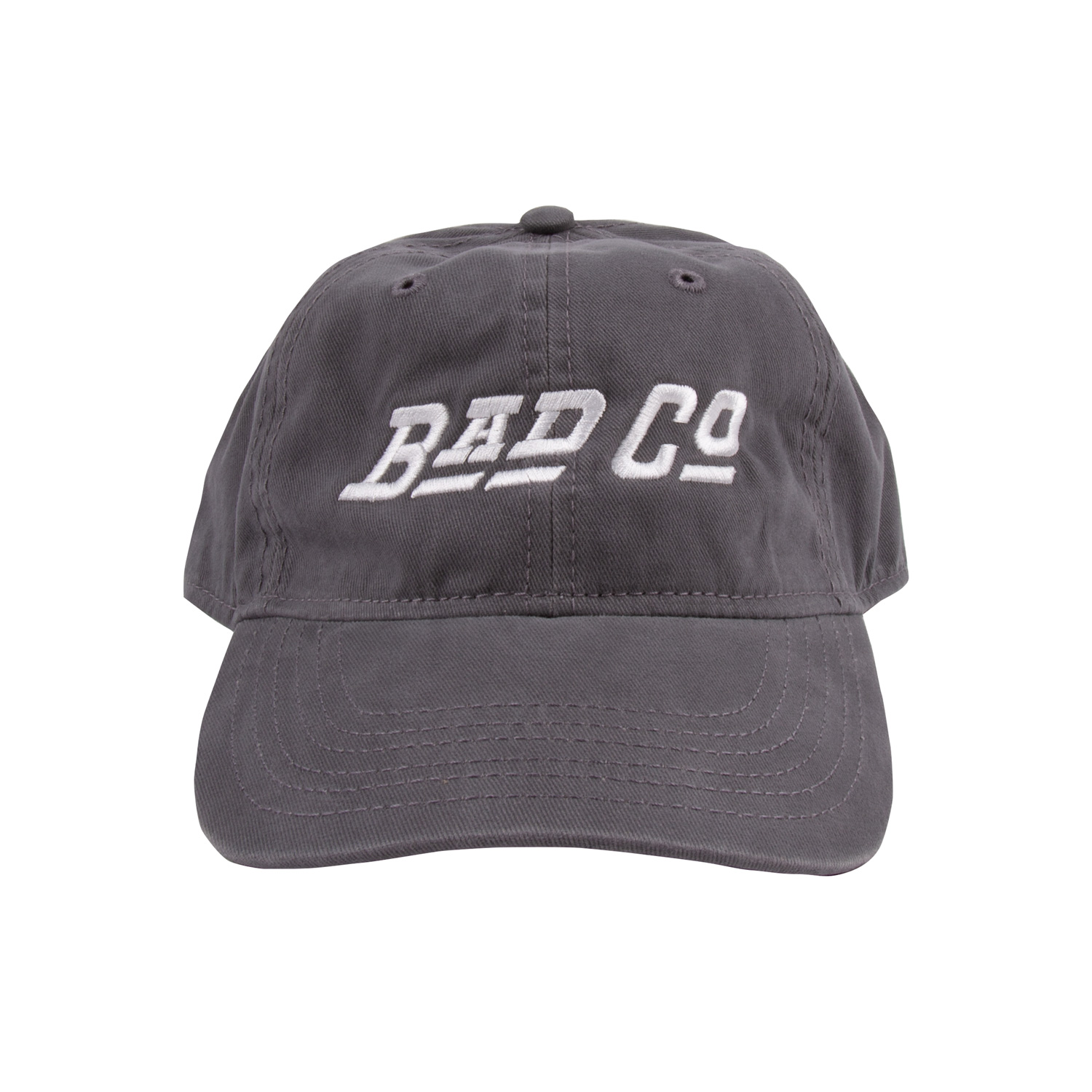 Bad Company Logo Unstructured Hat - Grey