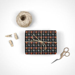 Bad Company Multi Logo Wrapping Paper