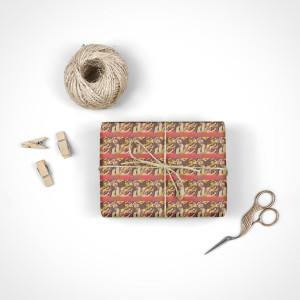 Bad Company Vintage Poster Wrapping Paper