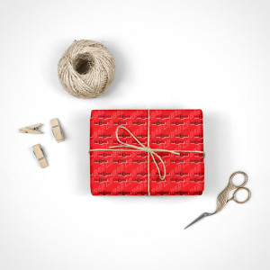 Bad Company Halo Wrapping Paper