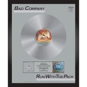 Bad Company Run With The Pack Personalized Award Plaque
