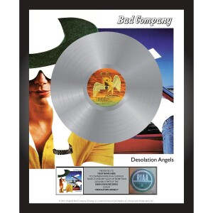 Bad Company Desolation Angels Personalized Award Plaque