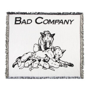 Bad Company Run with the Pack Throw Blanket
