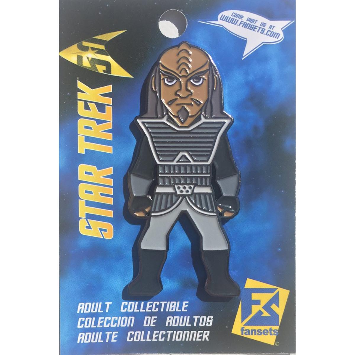 Star Trek The Next Generation Klingon  Collector's Pin