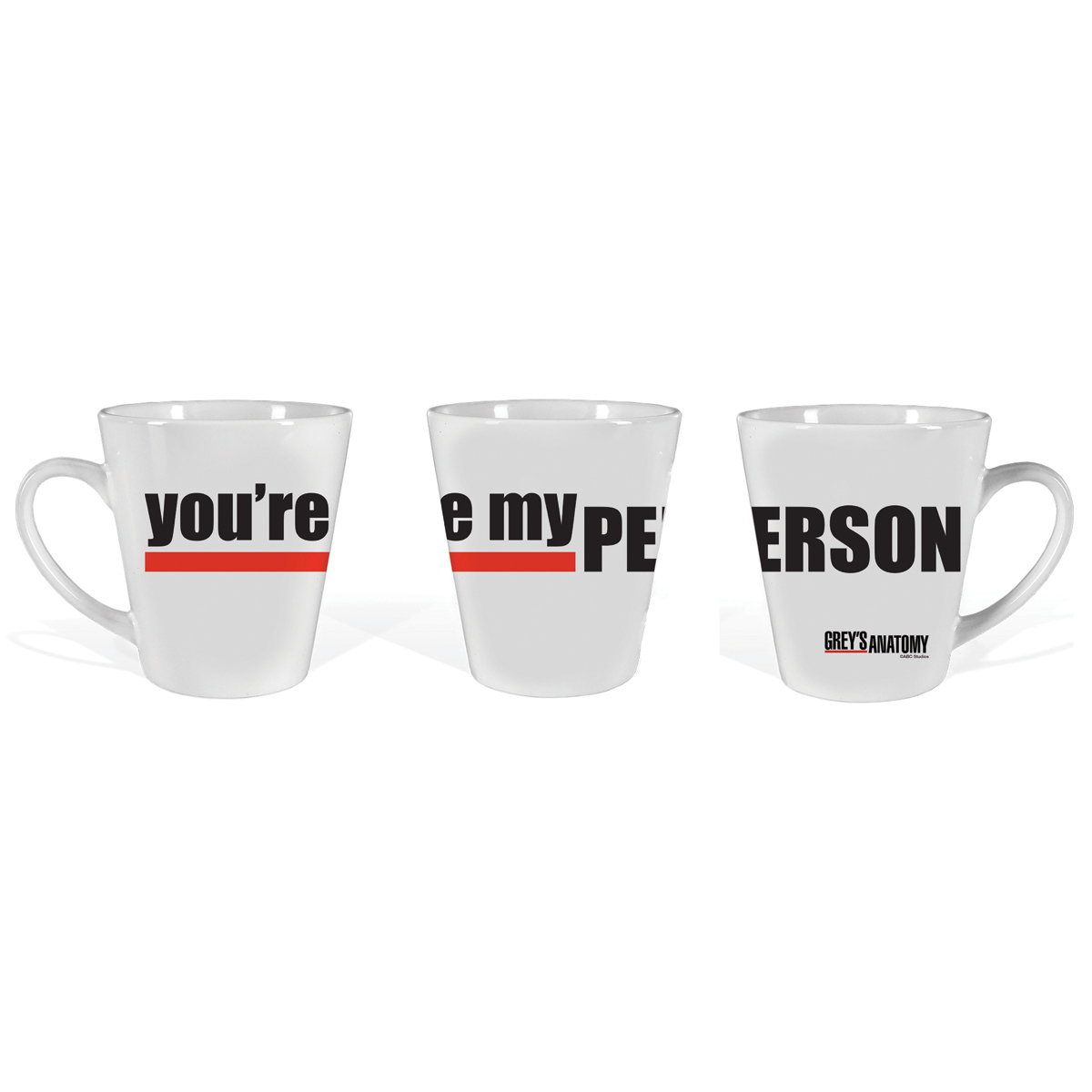 Grey's Anatomy You're My Person Latte Mug
