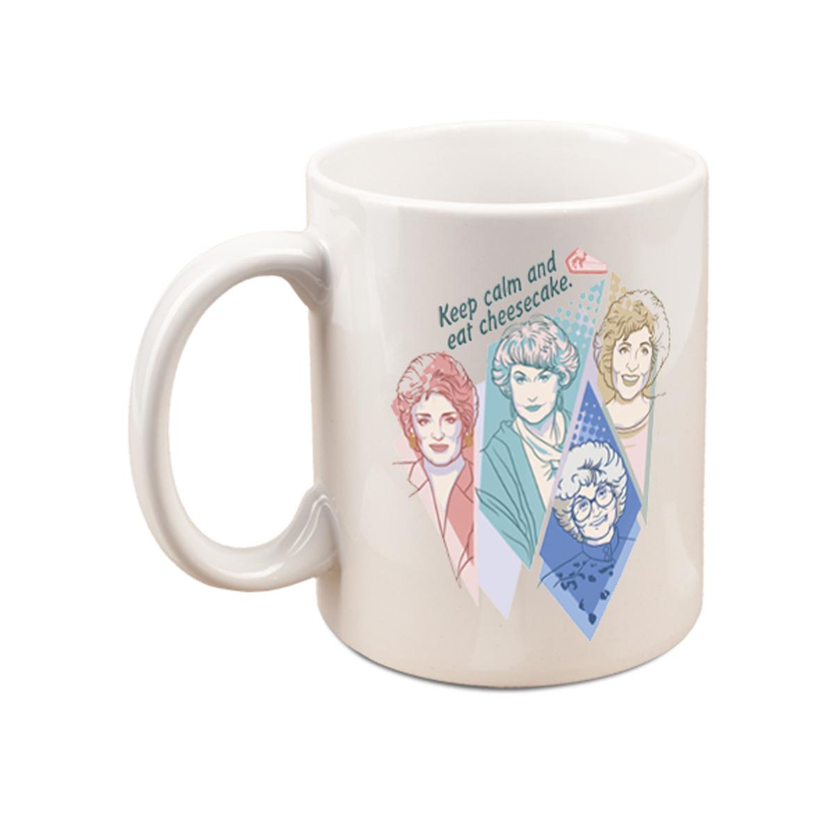 The Golden Girls Keep Calm And Eat Cheesecake Mug