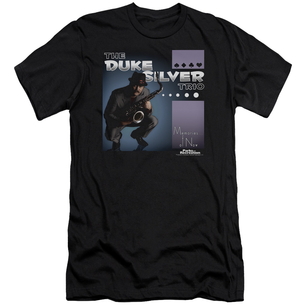 Parks and Recreation Duke Silver T-Shirt