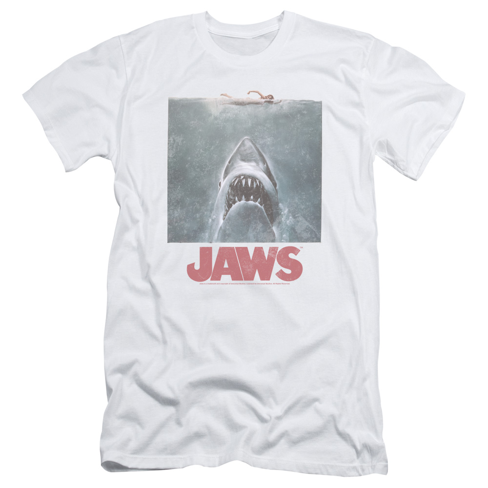 Jaws Distressed T-Shirt