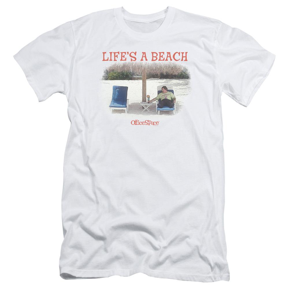Office Space Life's A Beach T-Shirt