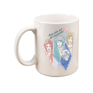 The Golden Girls Keep Calm And Eat Cheesecake Mug