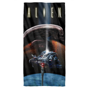 Alien Beach Towel
