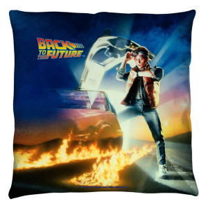 Back to the Future Pillow