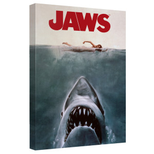 JAWS Canvas Wall Art