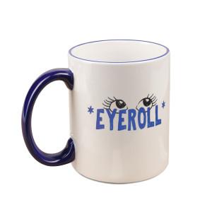 POPFTW Eyeroll Mug