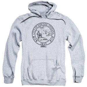 Parks and Recreation City of Pawnee 1817 Pullover Hoodie
