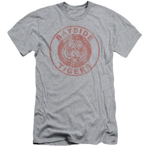 Saved By The Bell Bay Side Tigers Circle Logo T-Shirt