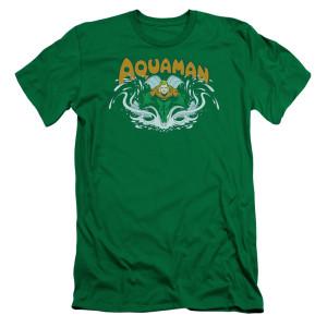 Aquaman Comic Logo T-Shirt