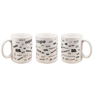 POPFTW Many No's Mug (White)