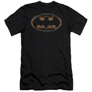 Batman Logo Embossed T-Shirt