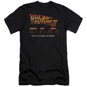 Back To The Future II Date T-Shirt