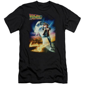 Back To The Future Poster T-Shirt