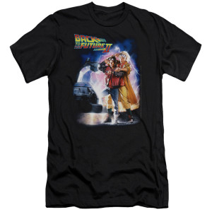 Back To The Future II Poster T-Shirt